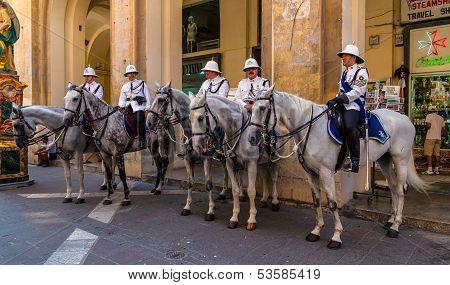 Malta Mounted Police