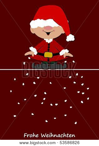 Little Santa Claus Brings Snow