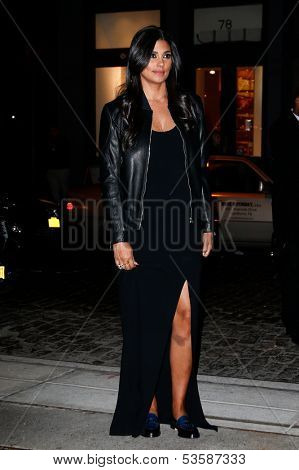NEW YORK- NOV 6: Designer Rachel Roy attends a screening of 'Thor' at the Crosby Street Hotel on November 6, 2013 in New York City.