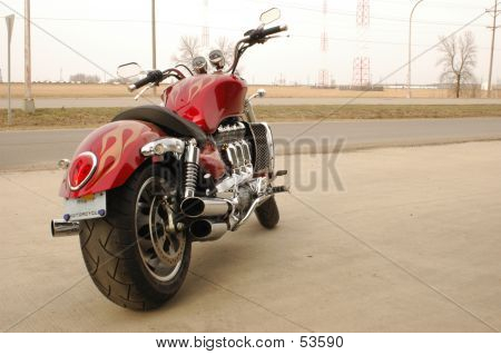 Motorcycle Ready To Ride