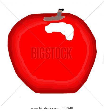 A Ceramic Apple ...