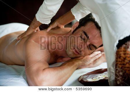Man met Massage