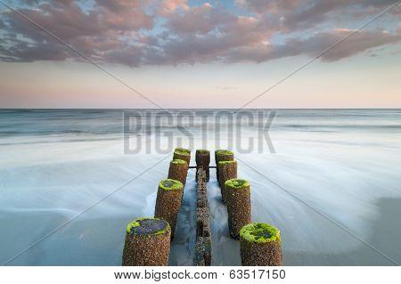 Folly Beach Charleston South Carolina Erosion Control Structure