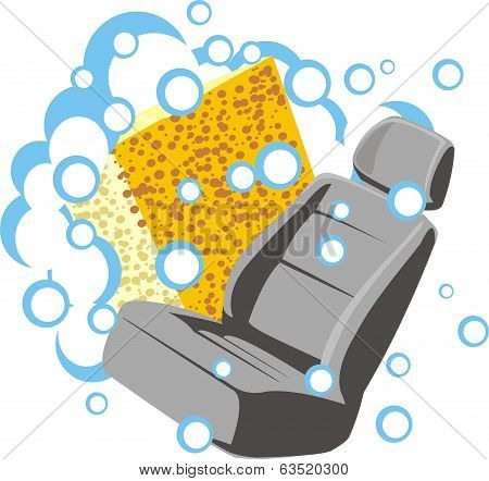 Car Chair Cleaning