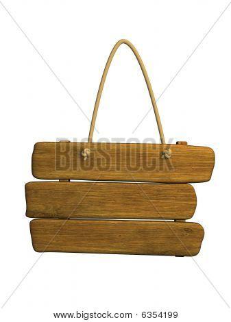 3D aus Holz tablet