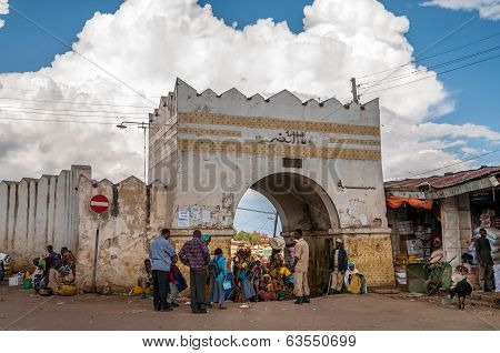 Asum Bari ,gate To Old Harar City