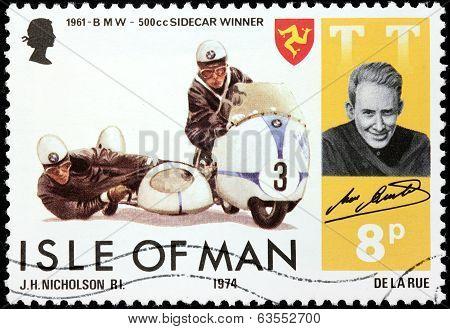 Max Deubel Stamp