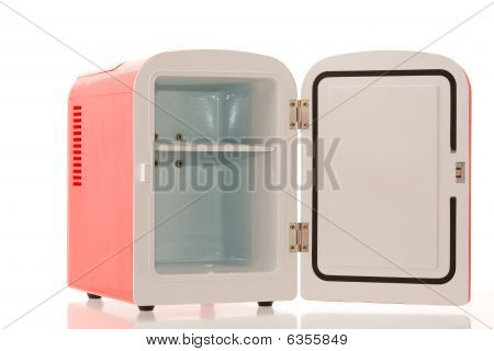 Red Miniature Fridge