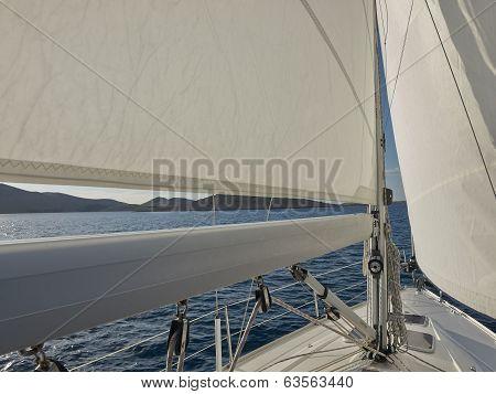 Sailing Around Islands