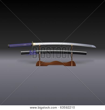 Traditional Samurai Sword