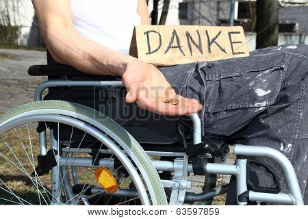 Homeless Wheelchair User