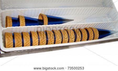 ice cream cones biscuit
