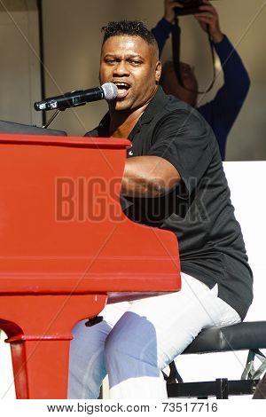 Stevie J. On Stage