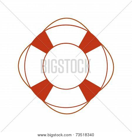 Orange safety ring
