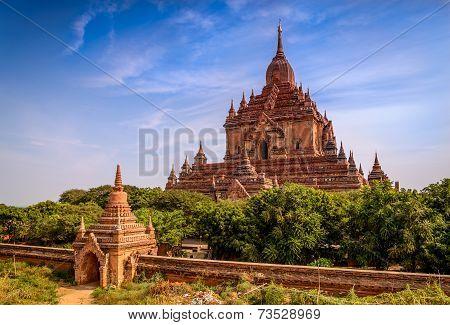 Temple In Bagan, Myanmar (burma)