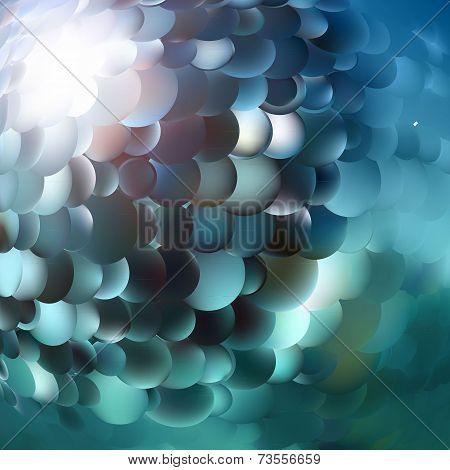 blue scale pattern
