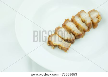 Streaky Pork Fried Fish Sauce