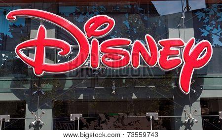 Disney Store exterior view