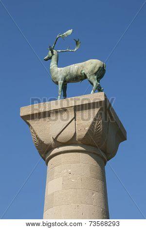 Deer of Rhodes