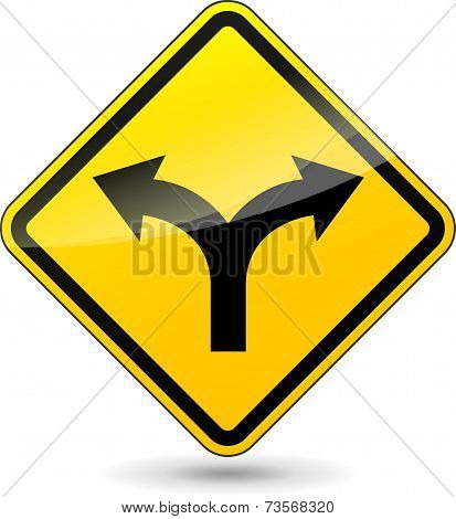 Two Directions Sign