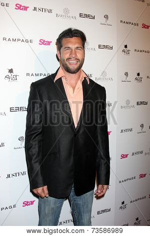 LOS ANGELES - OCT 9:  Marcus Shirock at the Star Magazine Scene Stealers Event at Lure on October 9, 2014 in Los Angeles, CA