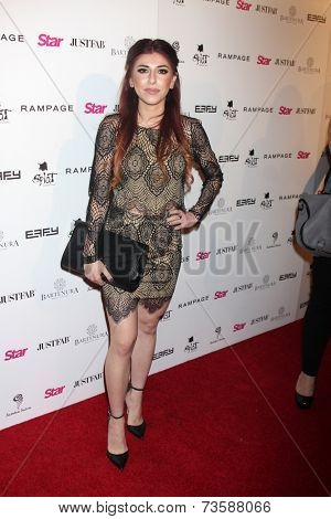 LOS ANGELES - OCT 9:  Alexa Ferr at the Star Magazine Scene Stealers Event at Lure on October 9, 2014 in Los Angeles, CA