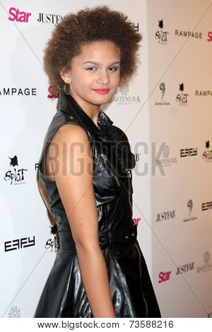 LOS ANGELES - OCT 9:  Lela Brown at the Star Magazine Scene Stealers Event at Lure on October 9, 2014 in Los Angeles, CA