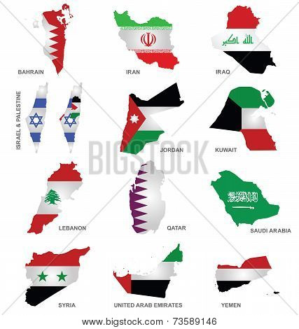 Gulf State Flags