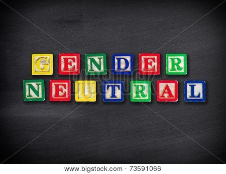 Gender Neutral Concept