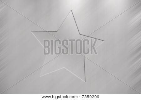 Star Grey Background