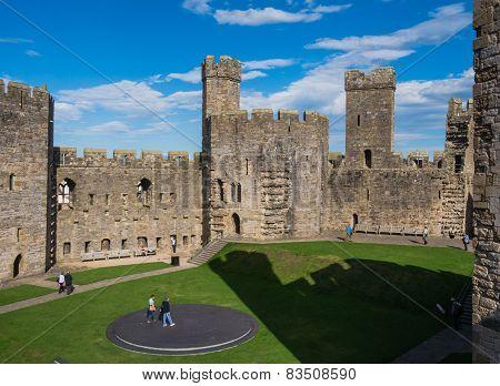 Caernarfon Castle, North Wales