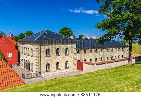Barracks In Kastellet Fortress, Copenhagen, Denmark