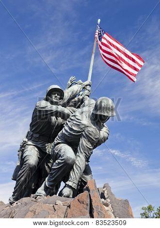 Washington Dc, Usa - Iwo Jima Statue