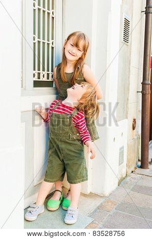 Fashion kids outdoors