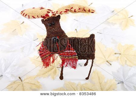 Reindeer And Leaves
