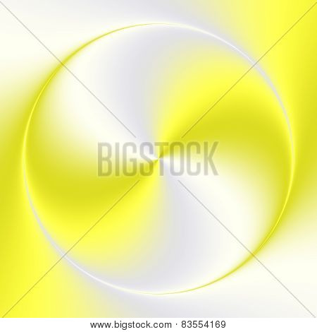 Yellow Gray Gradient Circle Abstract Background