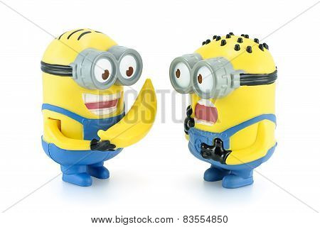 Minion Dave Give Banana To Minion.