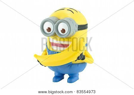 Minion Dave With Yellow Banana
