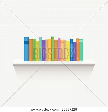 Book Shelf Illustration