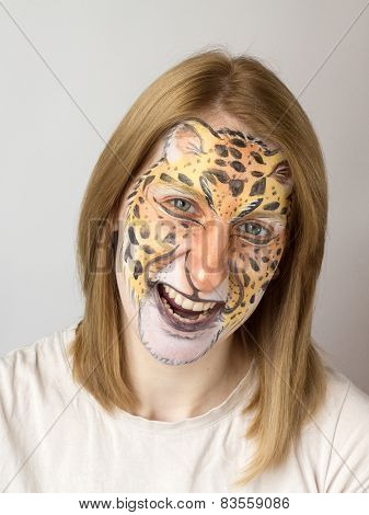 Face Painting  panther