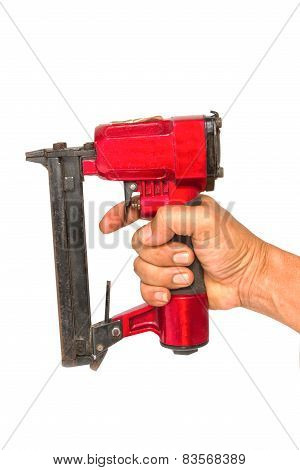 Air Nailer Or Nail Gun, Carpenter Tools