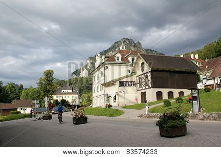Hohenschwangau streets