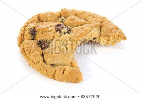 Bitten Oatmeal Raisin Cookie