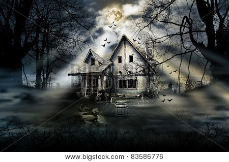 Haunted Scarry House