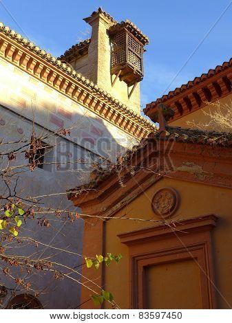 Warm Light On Old Rooflines