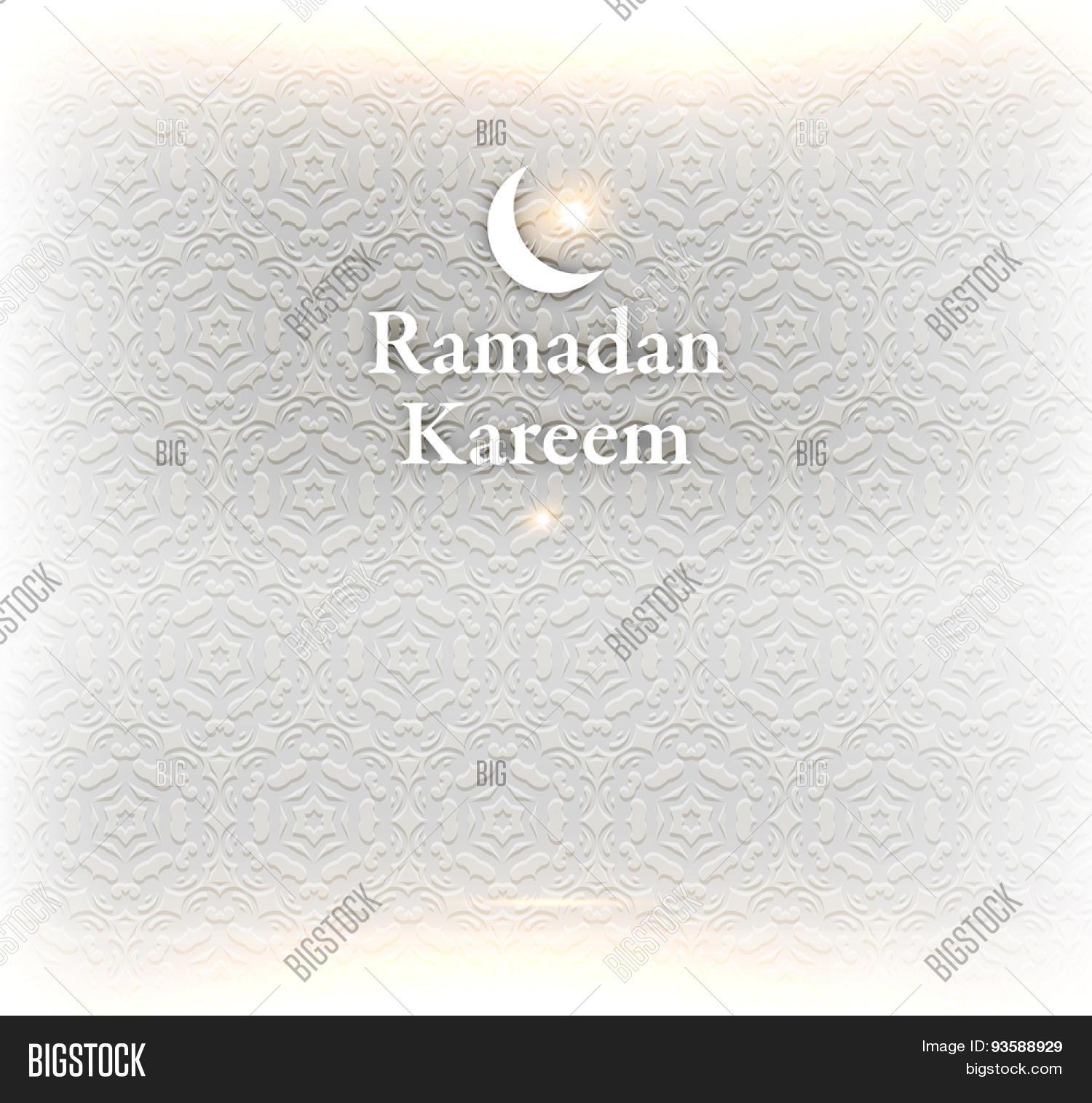 Ramadan Kareem Vector Photo Free Trial Bigstock