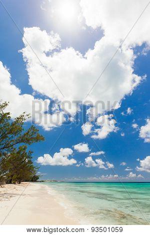 Peaceful Beach In The Bahamas