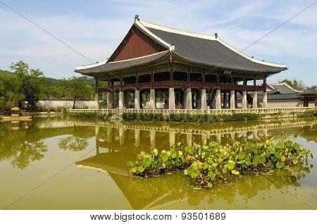 Pavillion At Gyeongbok Palace