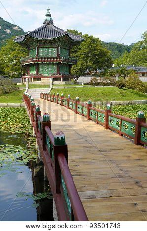 Gyeongbok Palace Pagoda, Seoul, South Korea