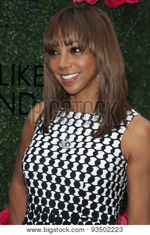 LOS ANGELES - JUN 13:  Holly Robinson Peete at the LadyLike Foundation 7th Annual Women Of Excellence Scholarship Luncheon at the Luxe Hotel on June 13, 2015 in Los Angeles, CA